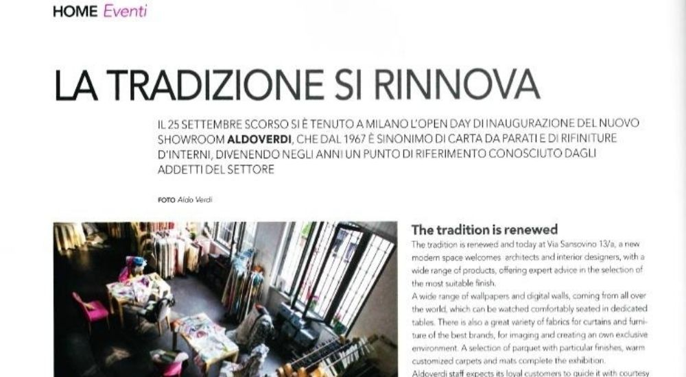 Home Italia Eventi AldoVerdi