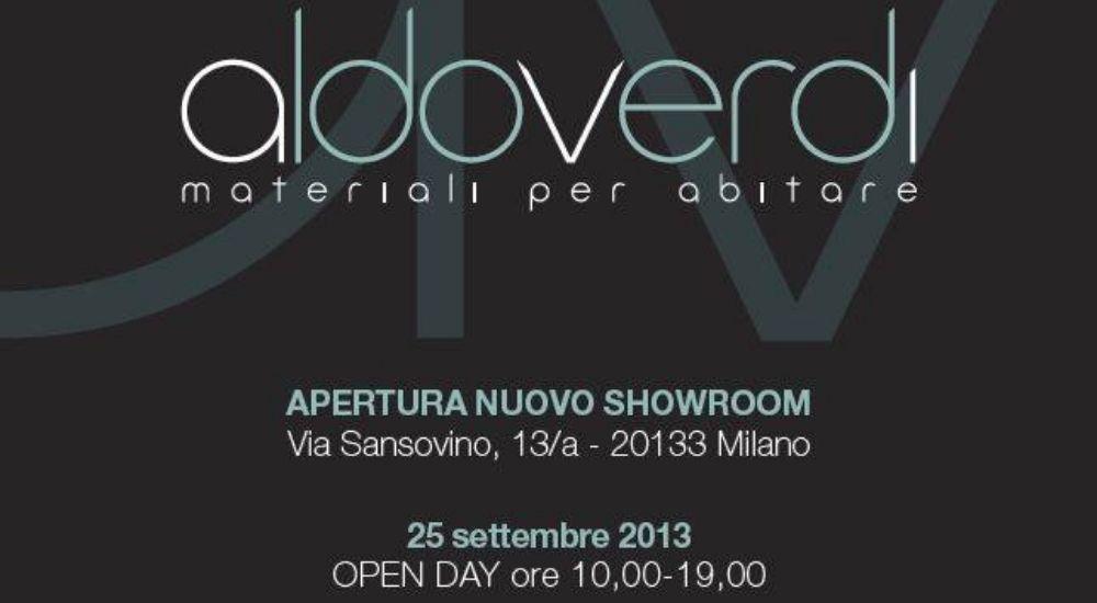 Inaugurazione Showroom AldoVerdi