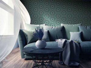 tessuti murali aldo verde milano